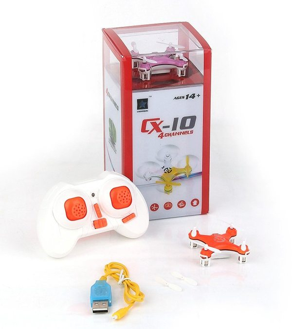 mini quadcopter package