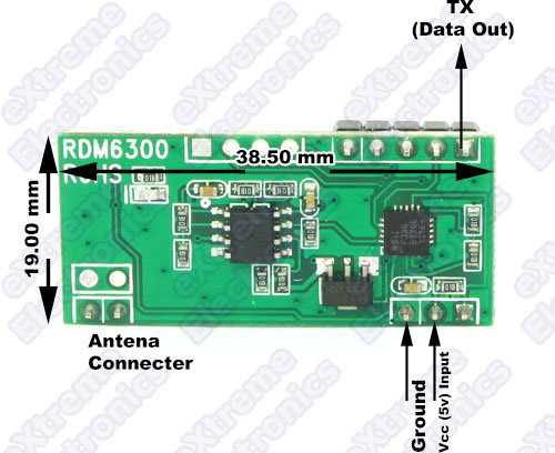 RFID Reader PIN Out