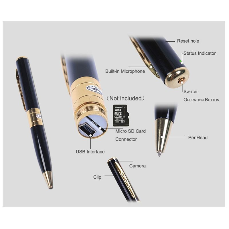 parts of the pen camera