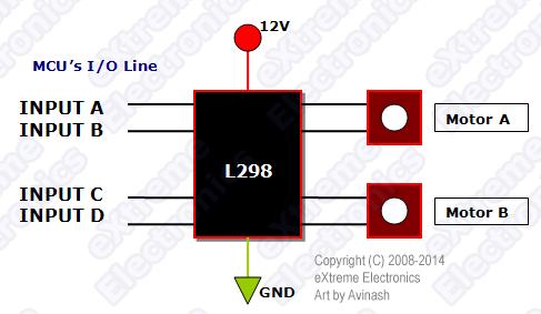 L293 connection