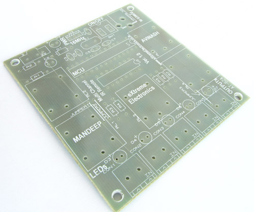 PCB for Multi Channel IR Remote