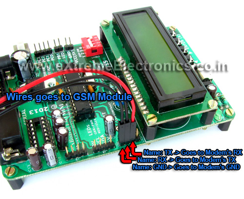 gsm connected to xBoard MINI