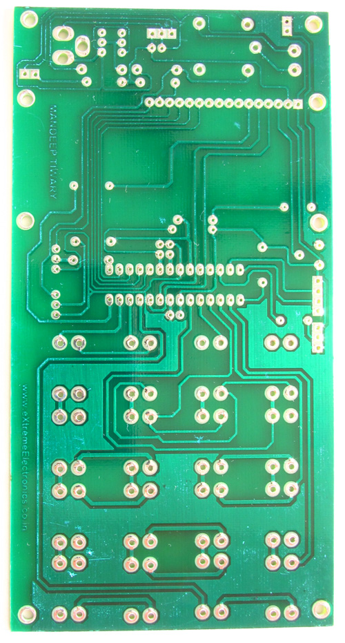 PCB AVR Based Code Lock
