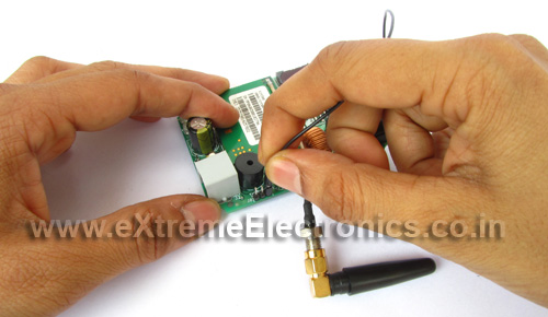 connect them to gsm module