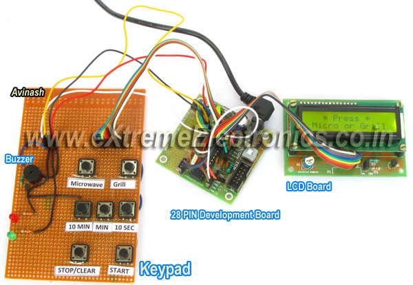 microwave timer using avr atmega8