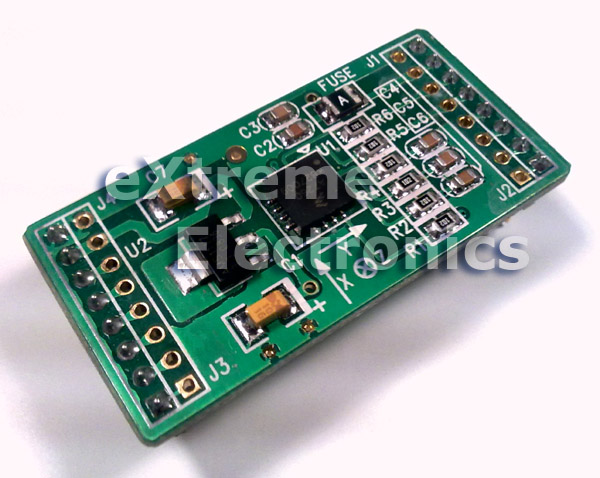 3 axis accelerometer module