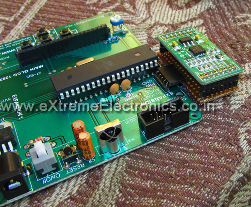 accelerometer expansion board just ready