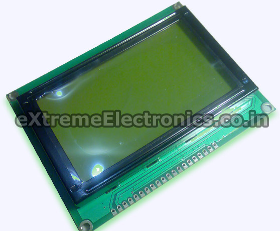 ks0108 based 128 x 64 Graphic LCD Module
