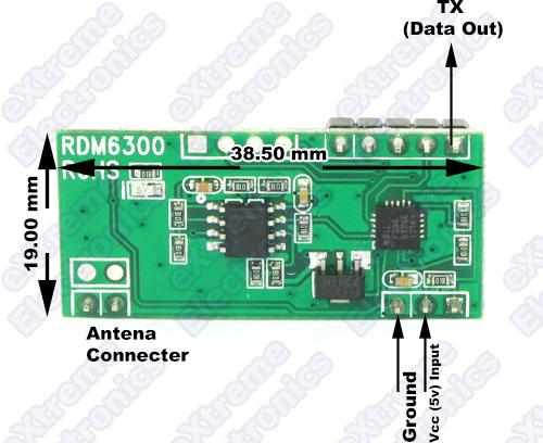 RFID Reader Module Pinout