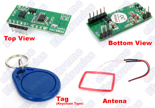 RFID Reader with TAG and Antena