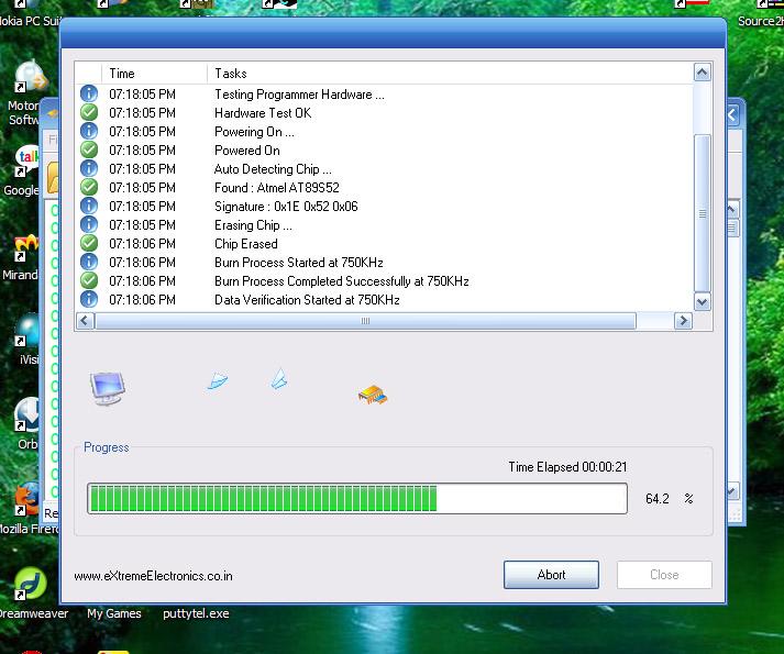 atmel 89s mcu programmer software
