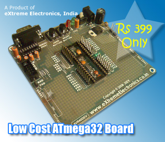 ATmega16 development board