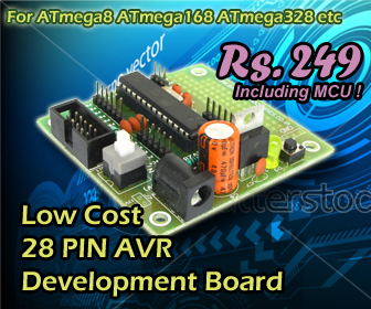 ATmega8 development board