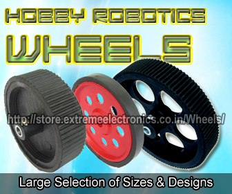 Hobby Robotics Wheels