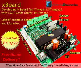 ATmega32 advance development board
