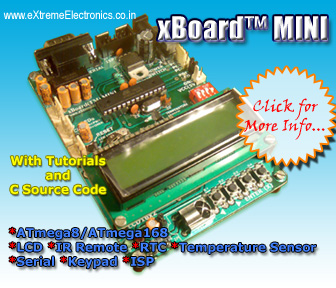 ATmega8 advance development board