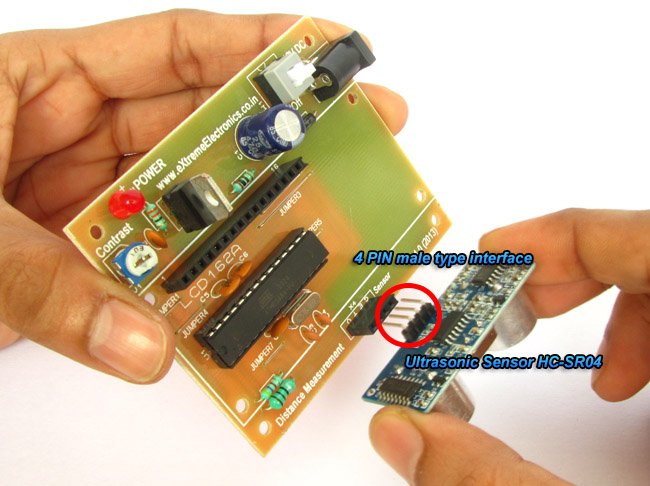 Installing HC-SR04