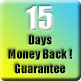 15 days money back guarantee !