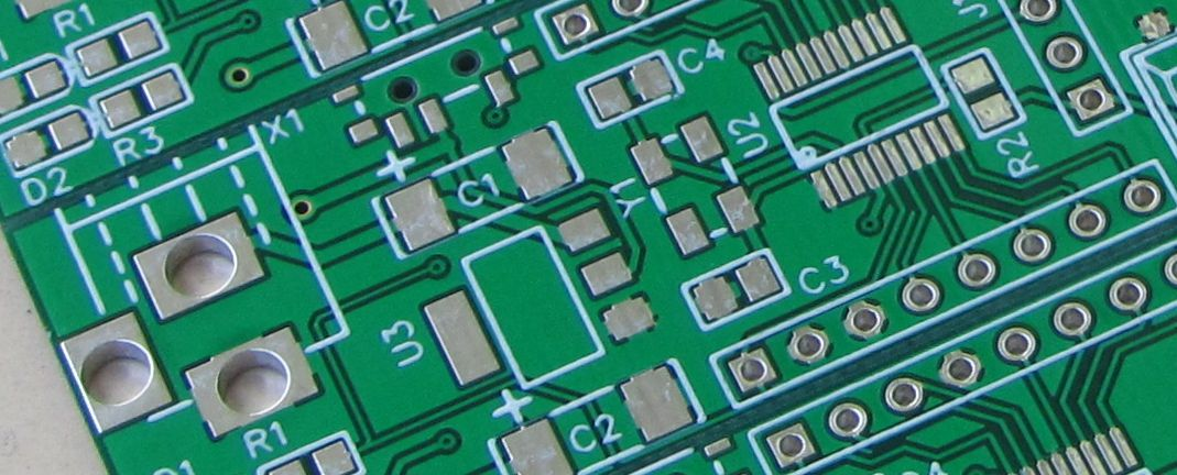 easy eda pcb closeup
