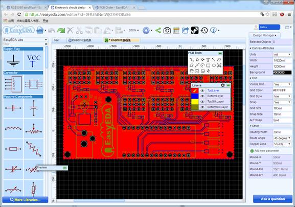 EasyEDA PCB Design