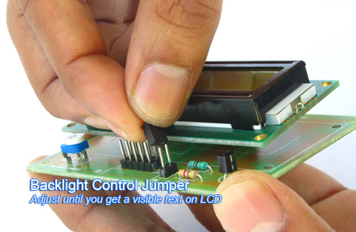 lcd back light control jumper