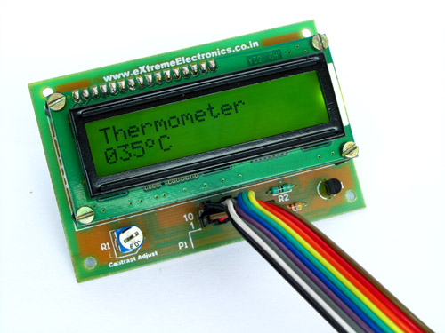 PIC16F877A Thermometer with LCD