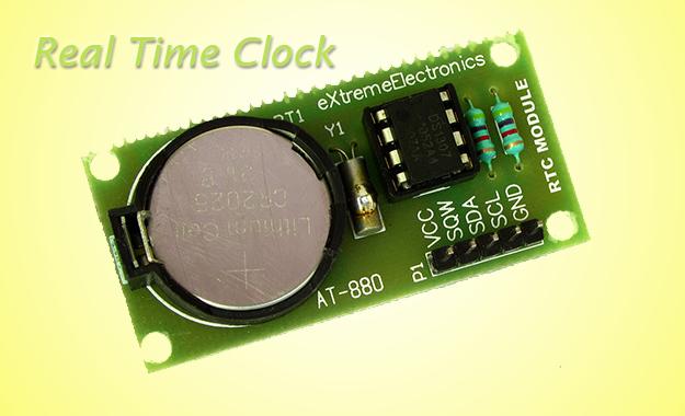 DS1307 I2C RTCC Interface using SoftI2C lib | eXtreme