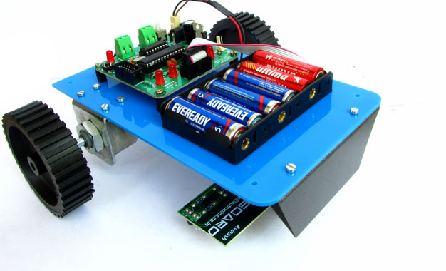 Projects Simple Linefollowing Robot Electronics For You