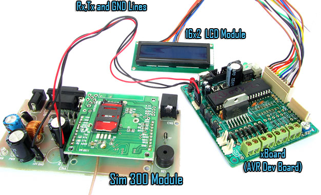 Sms Based Voting System Avr Gsm Project Extreme Electronics