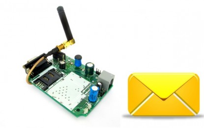 Sending and Receiving SMS using SIM300 GSM Module